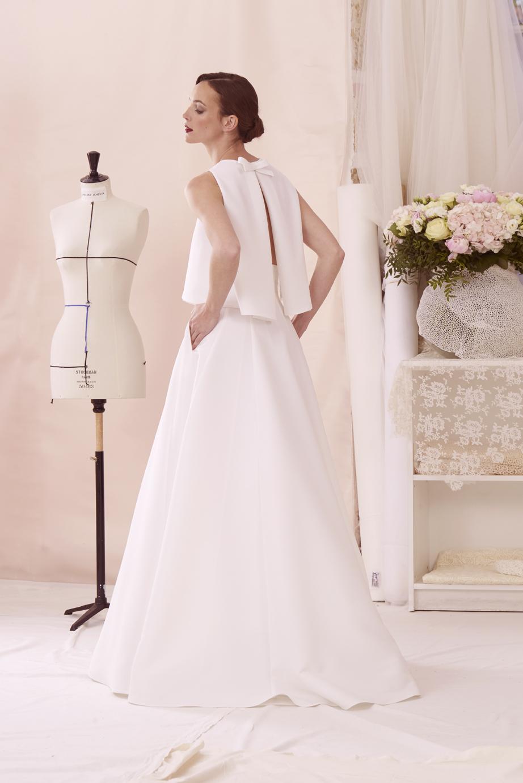 Présentation de la robe de mariée ensemble Lennie